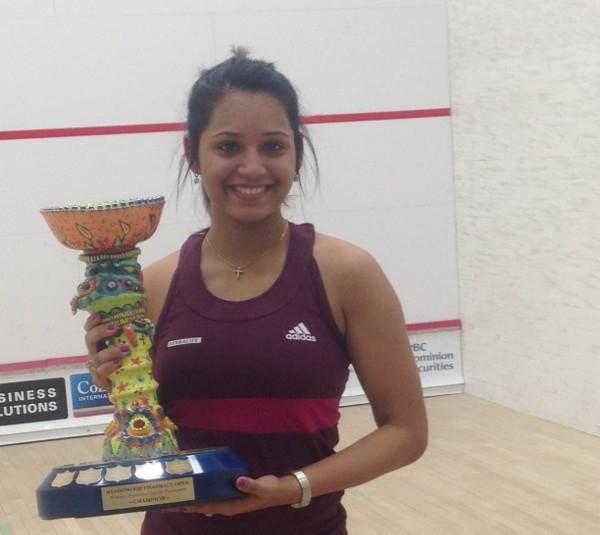 Dipika Pallikal wins the Winnipeg Winter Open