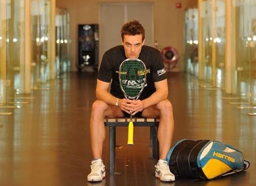 LJ is enjoying his Harrow rackets