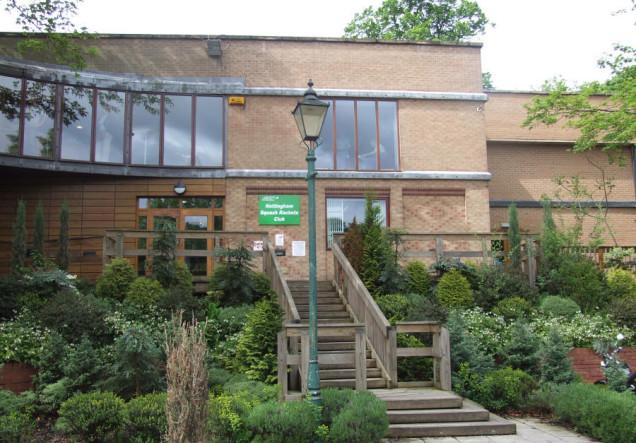 The superb Nottingham Squash Club