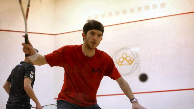 Eddie Charlton in action