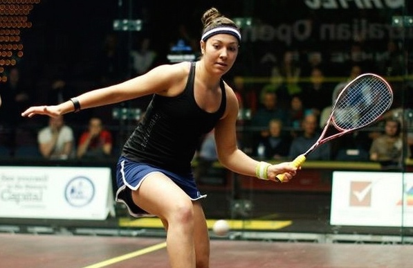 Amanda Sobhy took just 20 minutes to reach the semi-finals