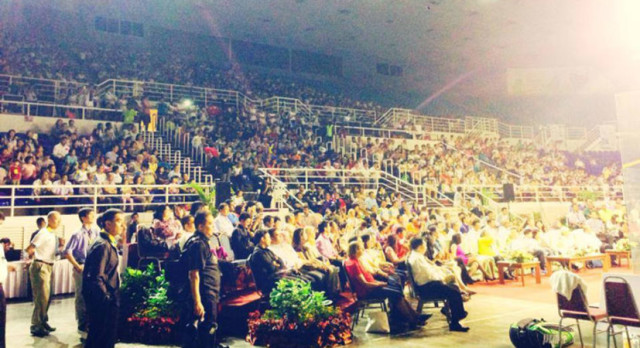 Packed crowds in Penang during last year's Women's World Championship