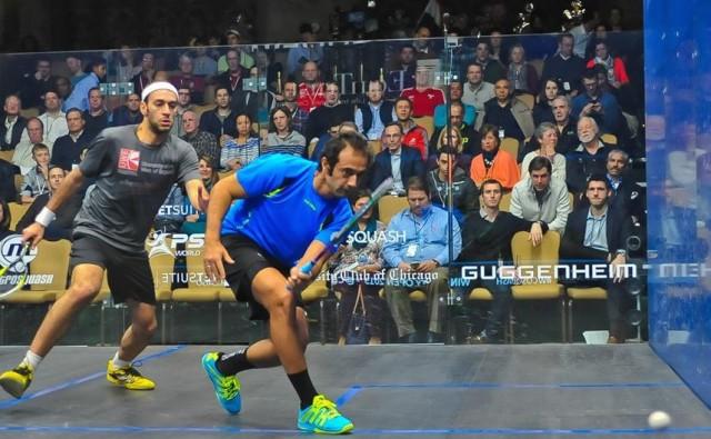 Amr Shabana's British Open hoodoo strikes again