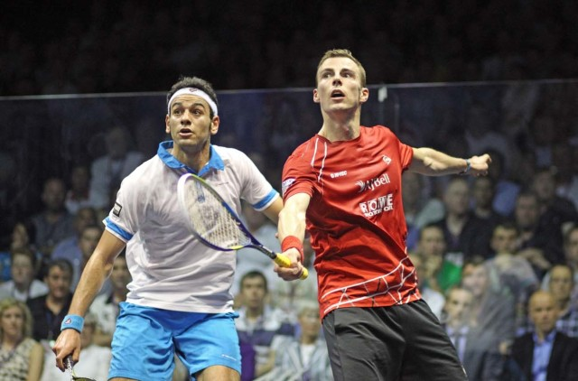 Mohamed Elshorbagy and Nick Matthew are aiming to peak for the British Open