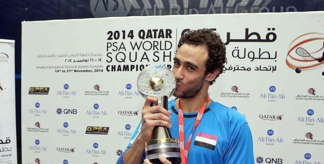 PSA player of the year Ramy Ashour