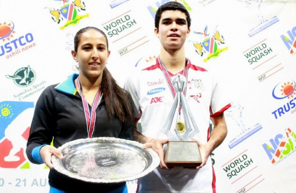 Reigning champions Diego Elias and Habiba Mohamed