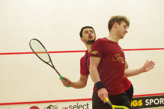 Tussle on the T against George Parker in the final
