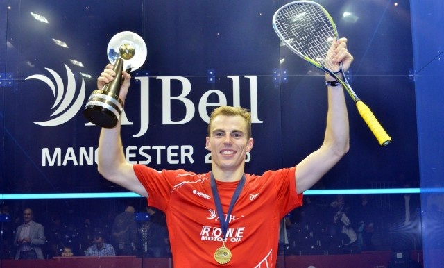 Nick Matthew is England's most successful squash player
