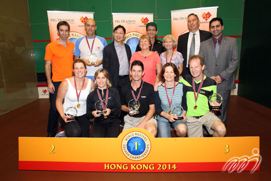 Masters champions in Hong Kong in 2014
