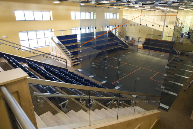 New courts at UVA highlight the growth of squash in the USA
