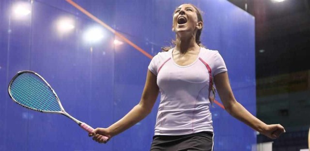 Happy Habiba is making great strides in the squash world