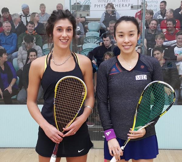 Finalists Kobayashi and Megan Craig