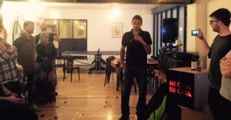 Mohamed on the mic
