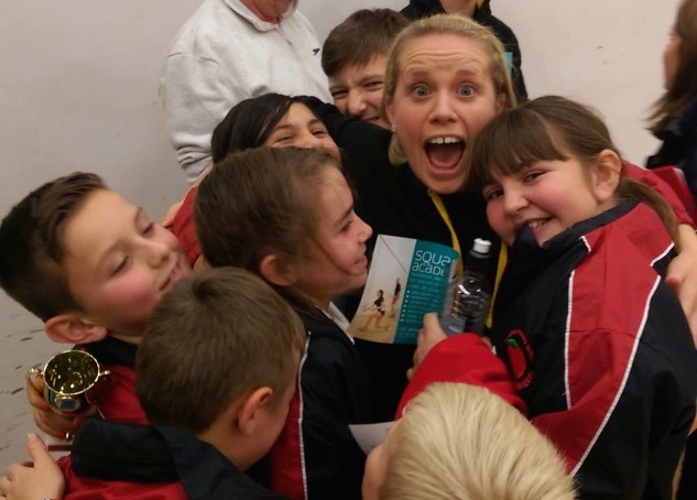 Coach Lauren Selby has a gift for making her pupils happy