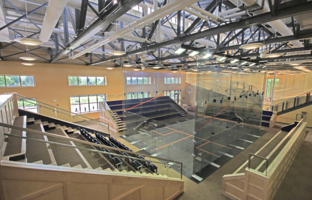 The McArthur Squash Centre at UVA