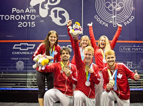 Gold and silver for Canada in the team finals