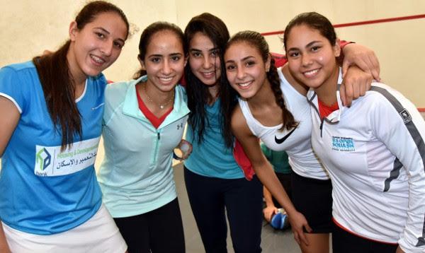 Egypt's quarter-final quintet