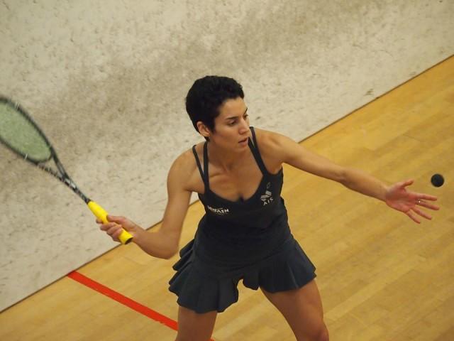 Christine Nunn in action in Melbourne