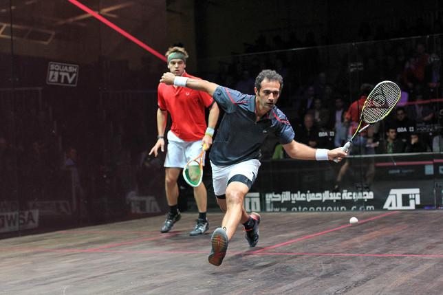 Amr Shabana in full swing