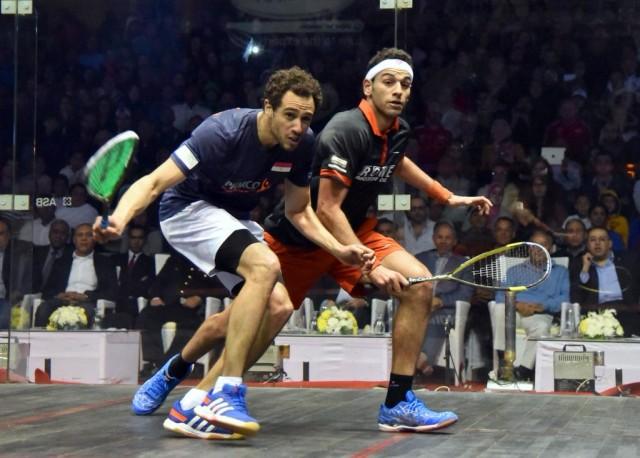 Egypt rules: world champion Ramy Ashour and world number one Mohamed Elshorbagy