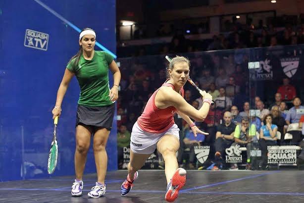 Laura Massaro overcomes Omneya Abdelkawy to reach the final