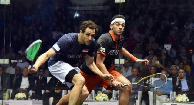Ramy Ashour and top seed Mohamed Elshorbagy could meet in another World final