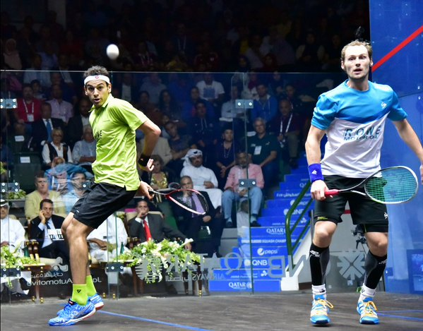 Mohamed Elshorbagy is wary of in-form Gregory Gaultier