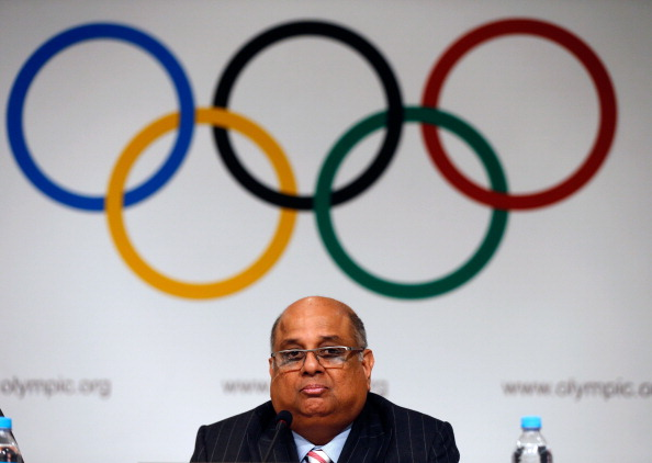 Rings of fire: WSF president Ramachandran addresses the IOC in Buenos Aires