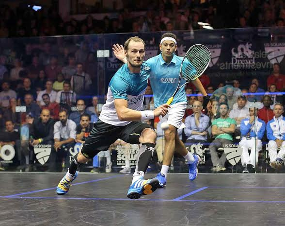 Gregory Gaultier and Mohamed Elshorbagy enjoy a fantastic rivalry