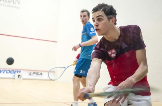 Eye on the prize: Ali Farag wins the Motor City Open