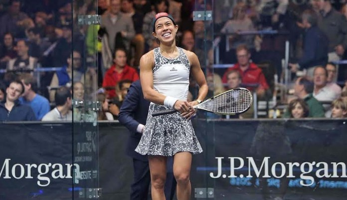 Nicol David is delighted to be back in New York