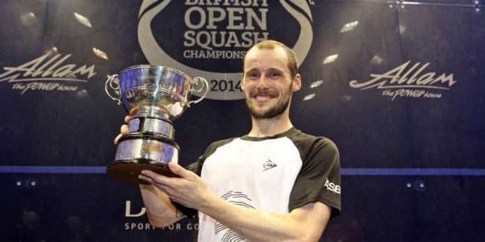 Gregory Gaultier wins the British Open at Hull in 2014