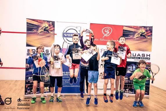 """Juniors """"Enjpy"""" squash in Poland"""