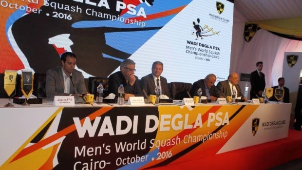 Back in Egypt: The launch of the 2016 PSA Men's World Championship