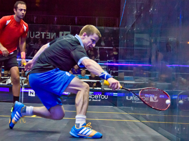 Alan Clyne has made it to the main draw