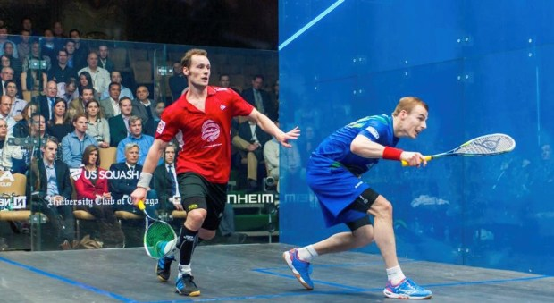 Nick Matthew and Gregory Gaultier are seeded to meet in the semi-finals