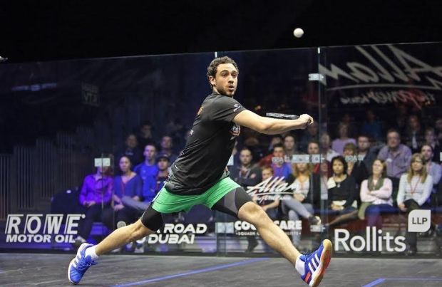 Ramy Ashour battles through his comeback match in Hull