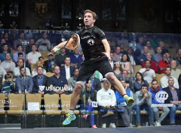 Mathieu Castagnet shows his amazing movement with a flying volley