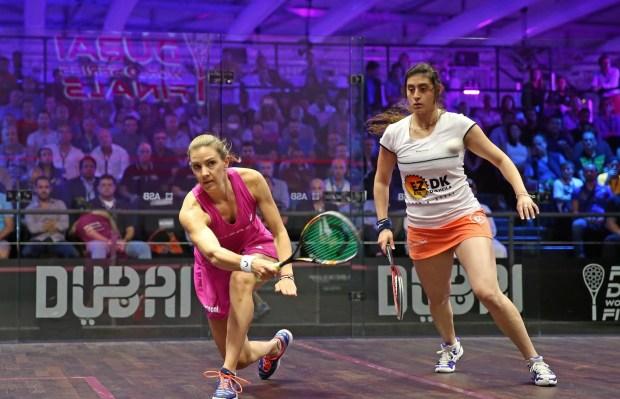 Laura Massaro beats Nour El Sherbini in Dubai