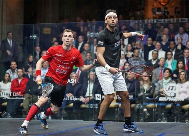 Nick Matthew and Mohamed Elshorbagy have enjoyed some tremendous battles