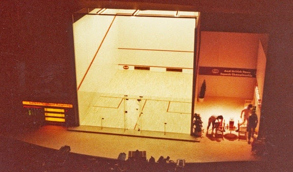 The 1981 British Open final at Bromley