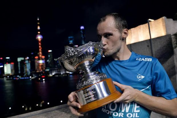 Reigning China champion Gregory Gaultier