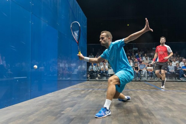 Gregoire Marche sets up a winner against Daryl Selby