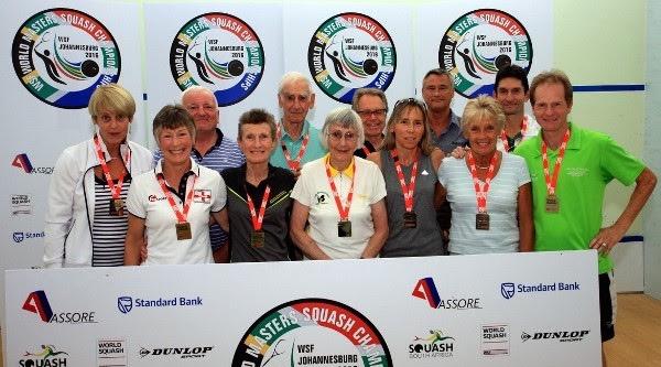 World Masters champions in Johannesburg