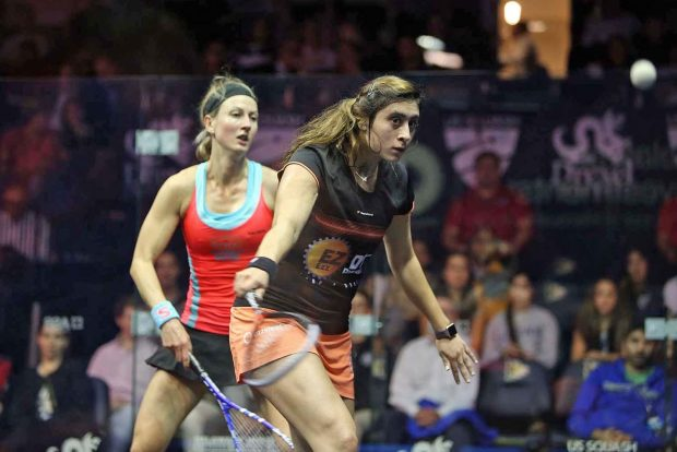 Nour El Sherbini powers past Alison Waters
