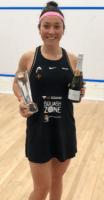 amanda with trophy