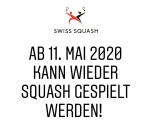 Swiss Squash Twitter announcement