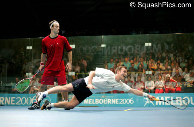 Peter Nicol always set a great example on court