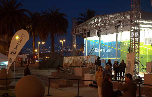 The glass court in San Francisco