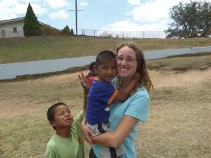 Louise Plougmann i HondurasLouise Plougmann i Honduras